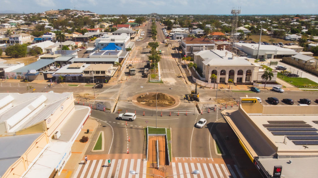 Bowen main street upgrades for the Beautiful Bowen Project 2019