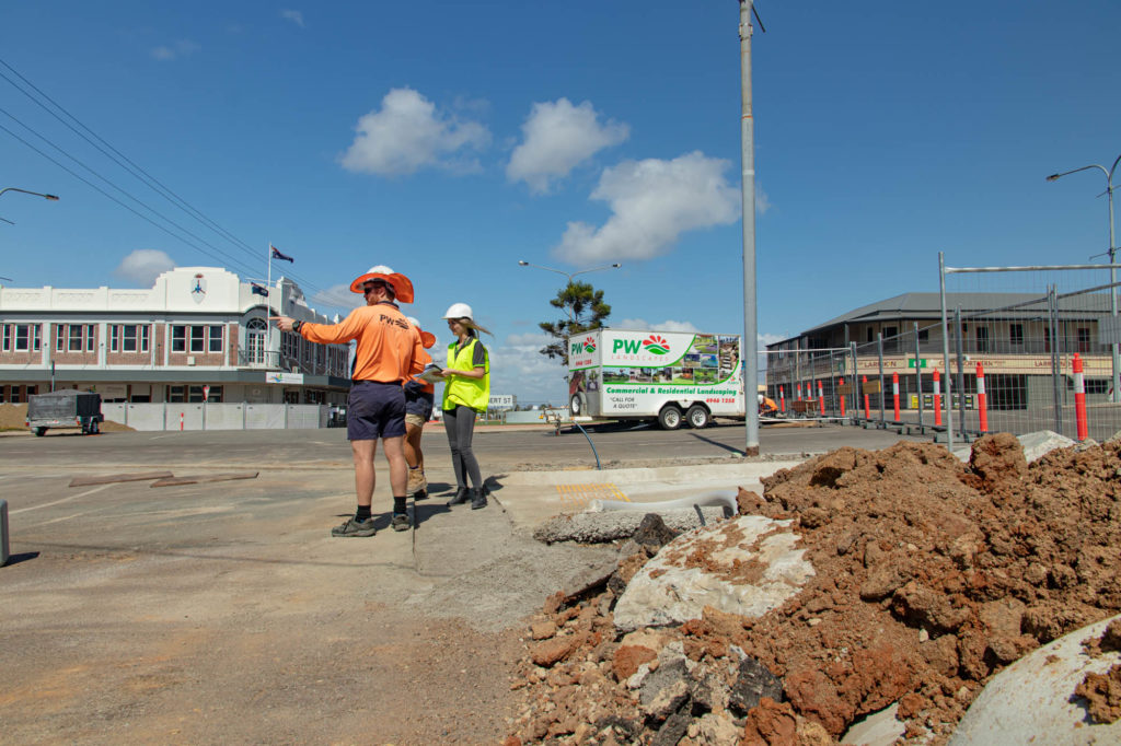 Bowen's main street set to be completed and updated by 2020!