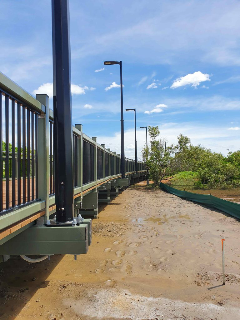 CFT by Wagner pedestrian footpath installed by PW Landscaping
