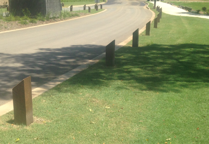 example of bollards Plants Whisunday North Queensland Landscaper