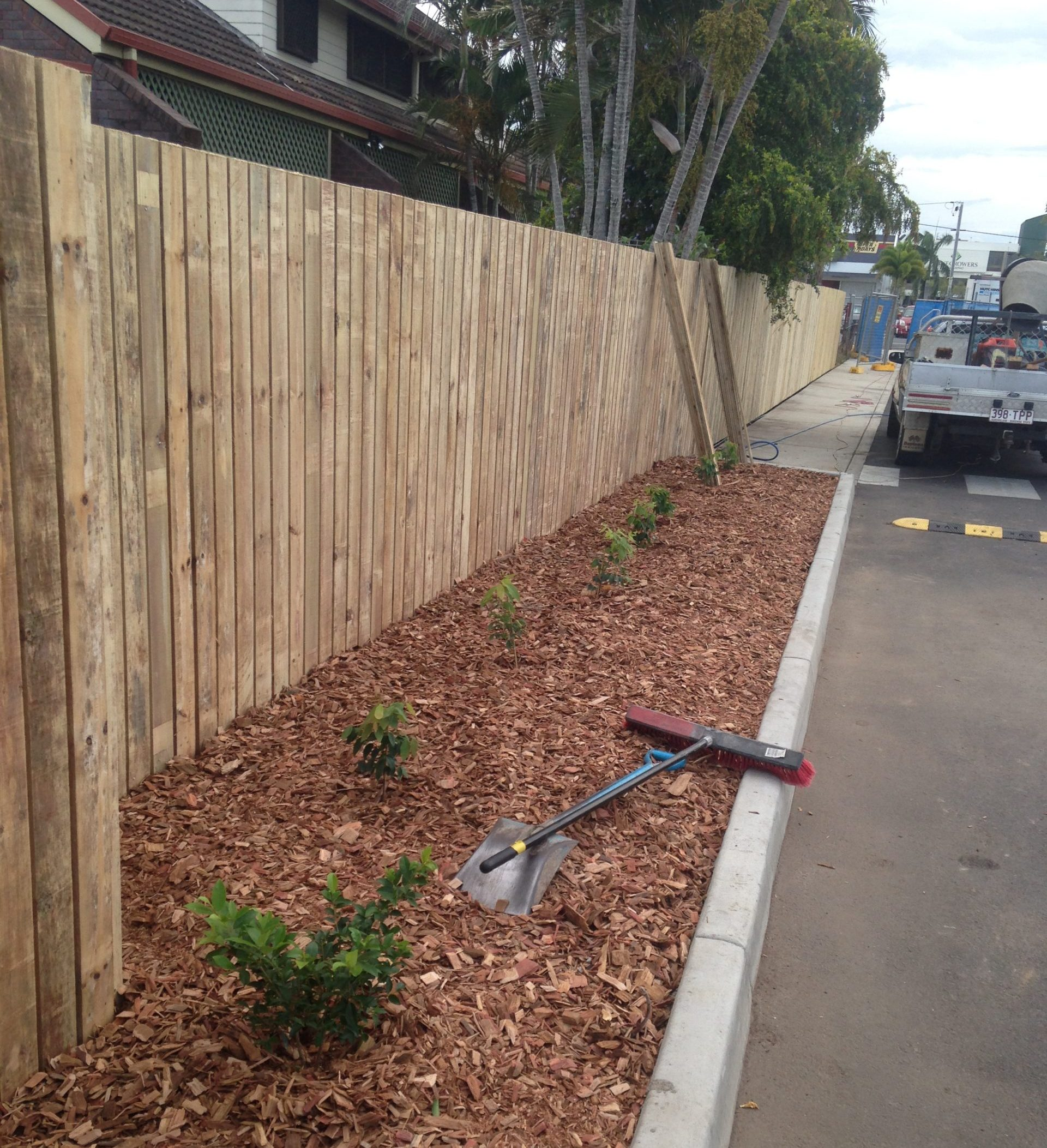 example of fencing by Plants Whitsunday Marketing Team in North Queensland