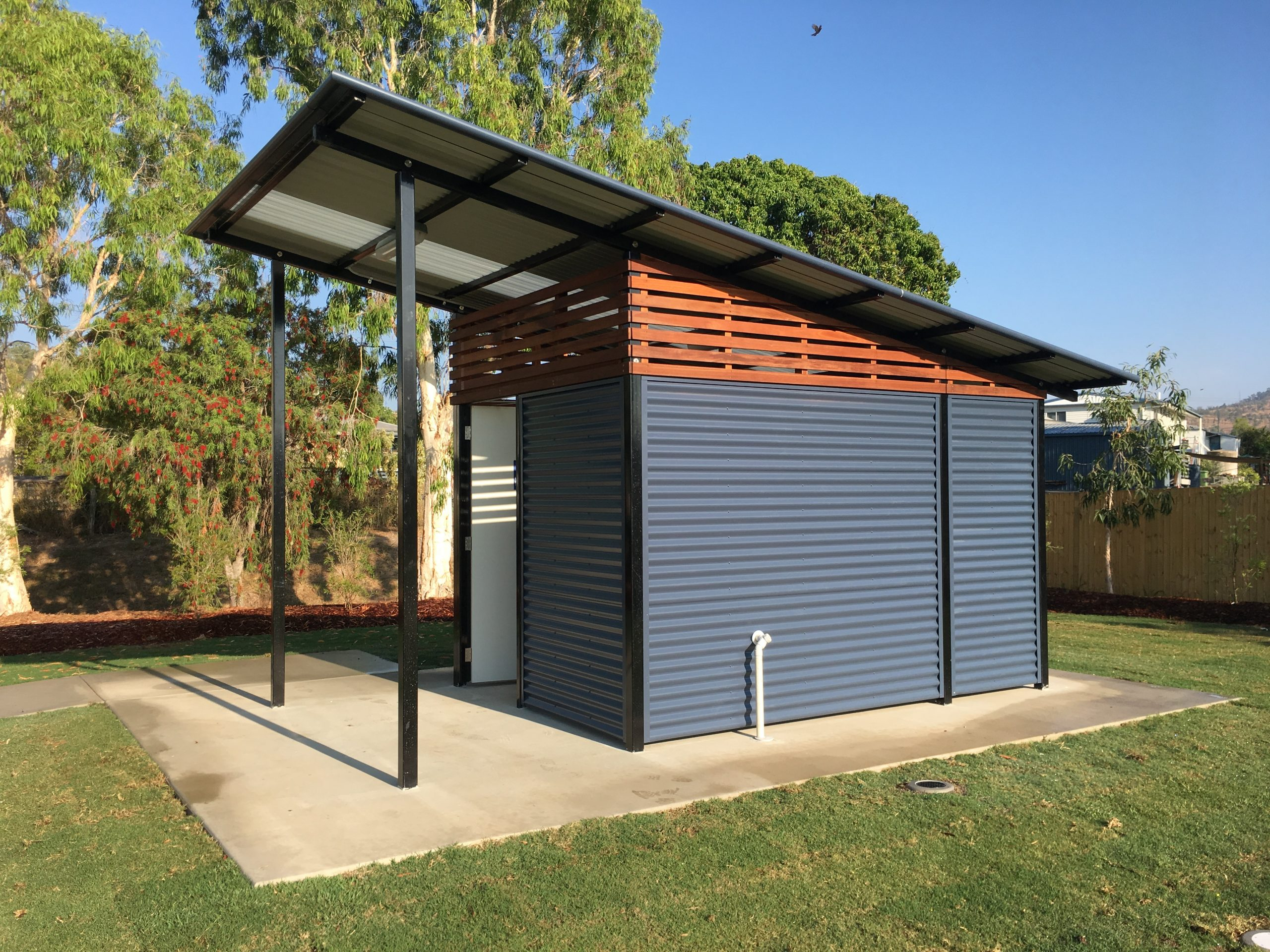 example of gazebo and shelters for plants whitsunday landscaping