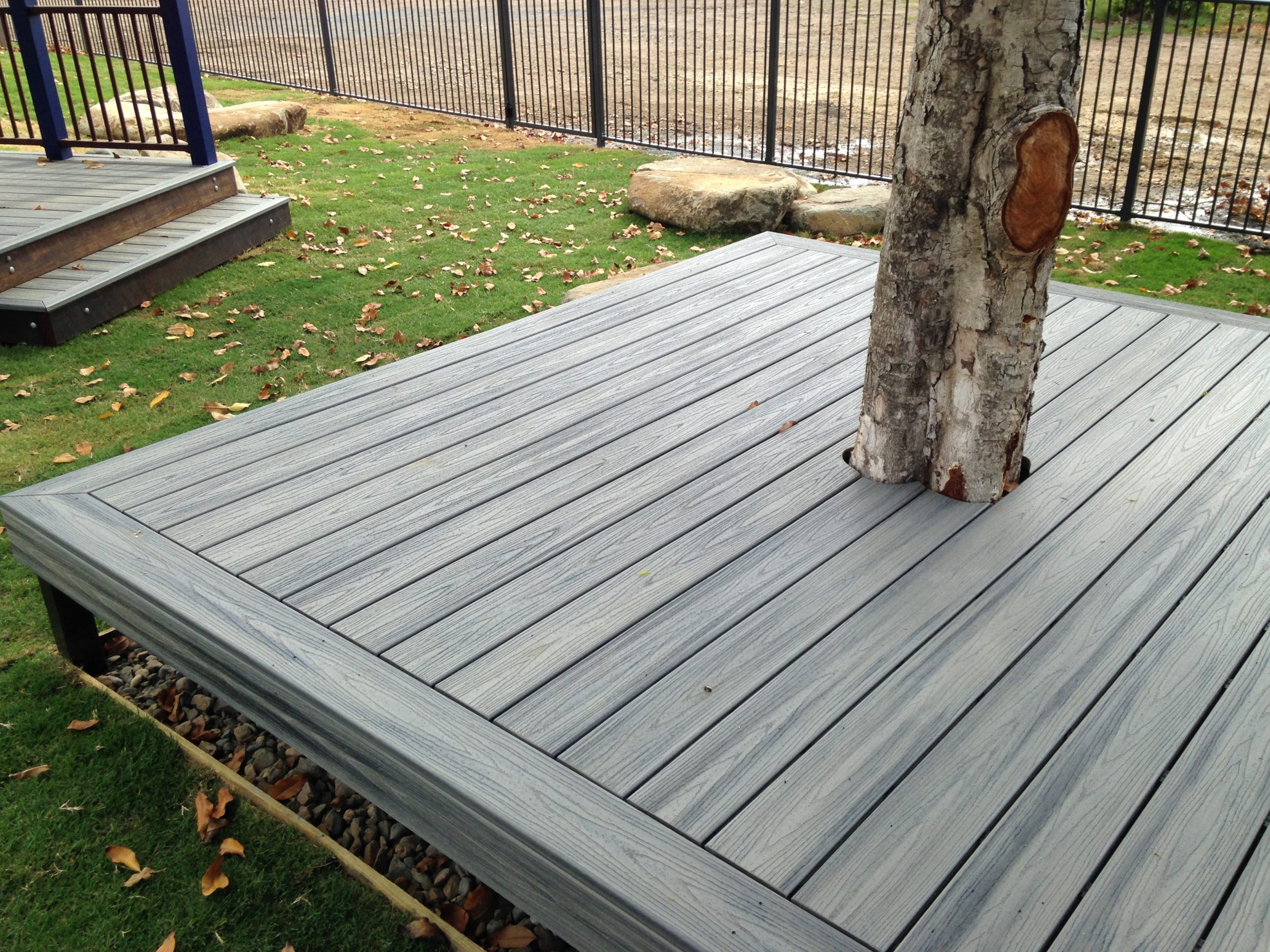 Example of decks and timber work for Plants Whitsunday Landscaping