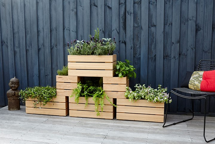 DIY Vertical Herb Garden