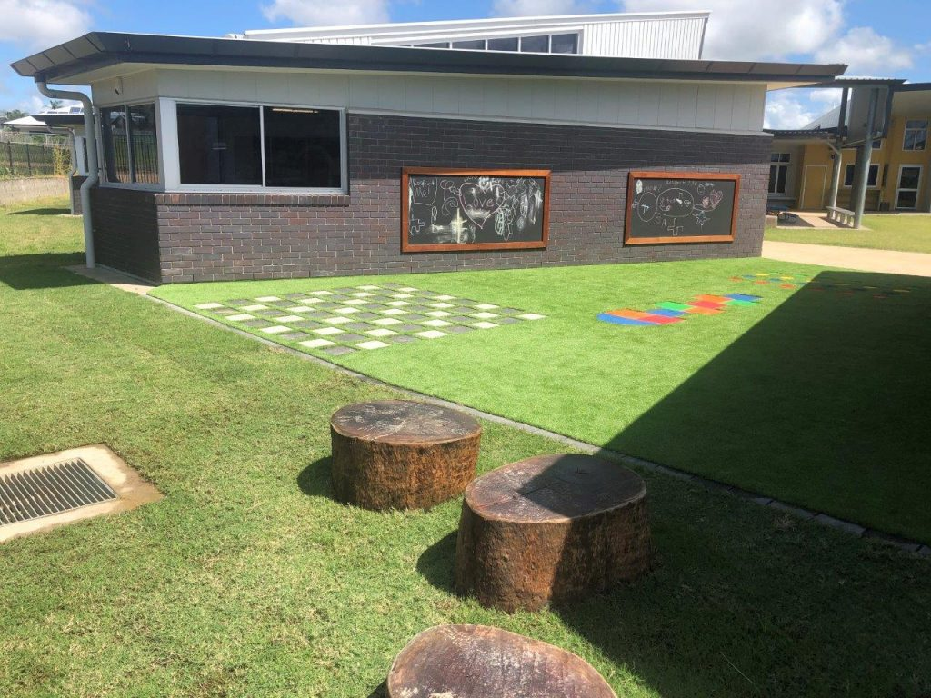 black boards school learning spaces by North Queensland Landscaping Team PW Landscapes