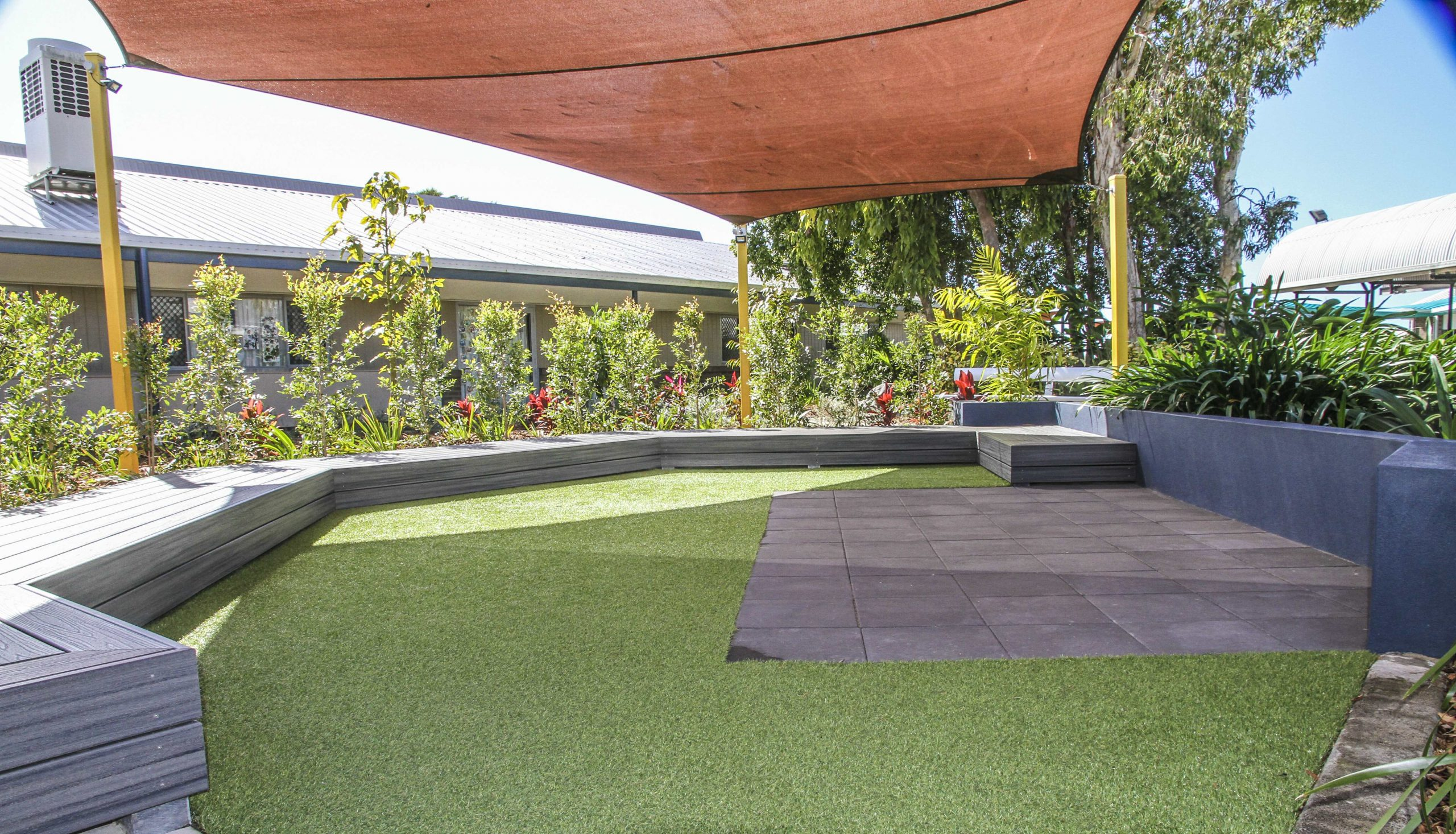Learning spaces installed by PW Landscapes
